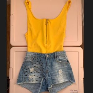 Summer outfit bundle!! Shorts and bodysuit